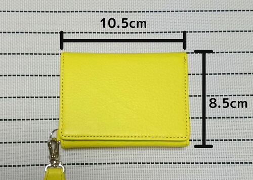 KUBERA 9981 Hybridスタンダードネオン「ミニ財布」縦×横サイズ