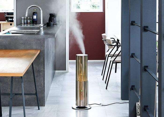 d-design「クレベリン®LED ハイブリッド式加湿器」設置例