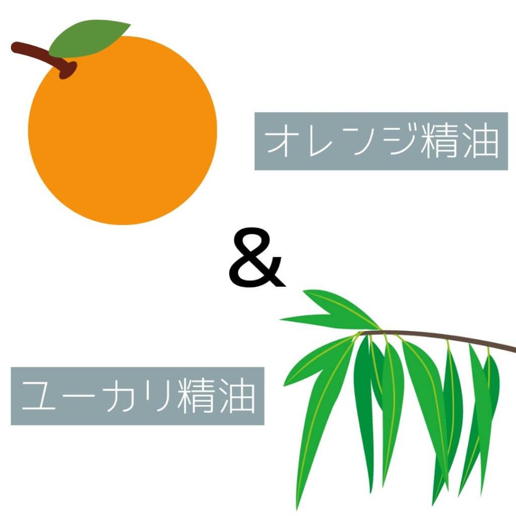 THE PUBLIC ORGANICスーパーリフレッシュのはオレンジ&ユーカリ精油配合
